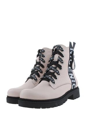 Ботинки пудрового цвета | 5498320