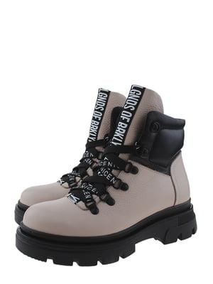 Ботинки пудрового цвета | 5498323