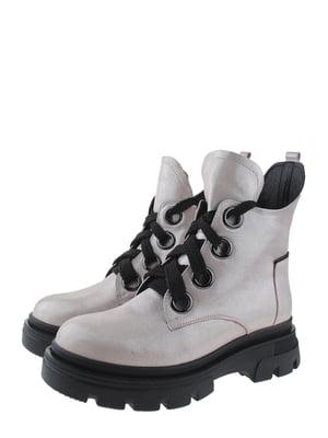 Ботинки пудрового цвета | 5498333