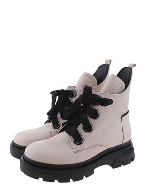 Ботинки пудрового цвета | 5498341