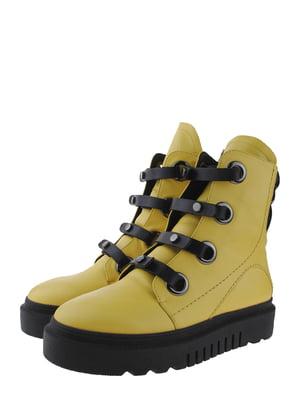 Ботинки желтые | 5498344
