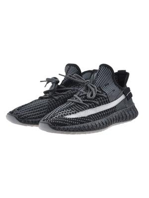 Кроссовки черно-серые | 5498820