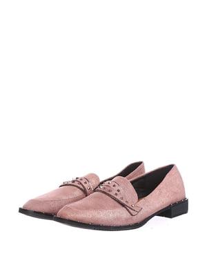 Лоферы розовые | 5485651