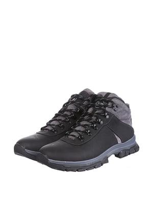 Ботинки черно-серые | 5498192