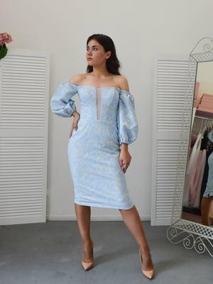 Сукня блакитна | 5500225