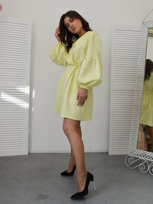 Сукня лимонного кольору | 5500228