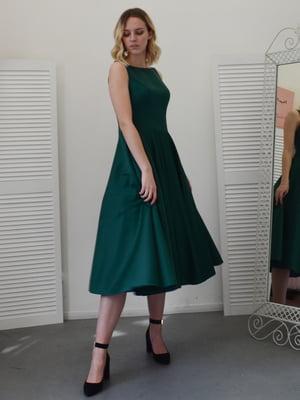 Сукня темно-зелена | 5500230