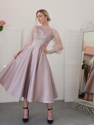 Сукня фрезового кольору | 5500236