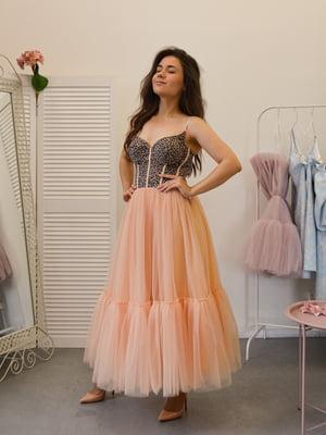 Сукня персикового кольору | 5500240