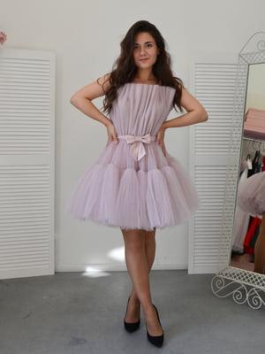 Сукня фрезового кольору | 5500241
