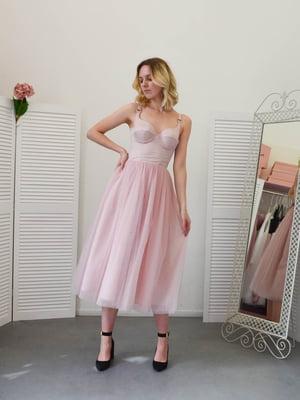 Сукня пудрового кольору | 5500245