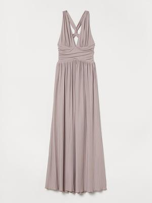 Сукня кольору пудри | 5500506