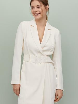 Сукня-жакет білого кольору | 5500534