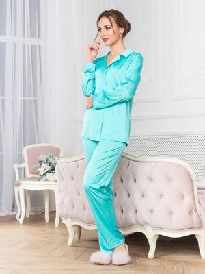 Пижама: рубашка и брюки | 5500271