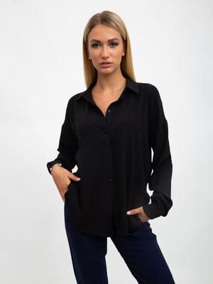Блуза черная   5500885