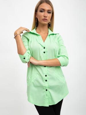 Блуза салатового цвета | 5500887