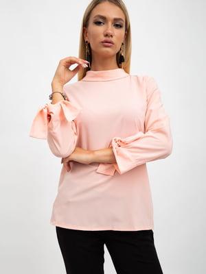 Блуза персикового цвета | 5500896