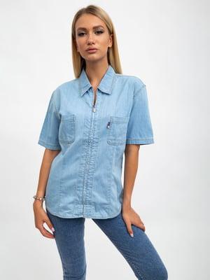 Рубашка светло-голубая | 5500939