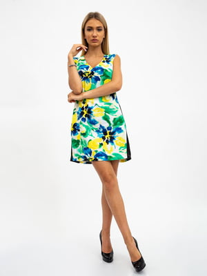 Платье в цветочный принт | 5501006