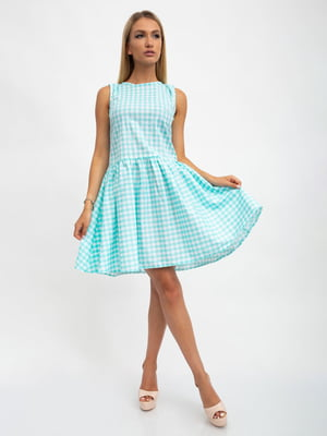 Платье в клетку | 5501012