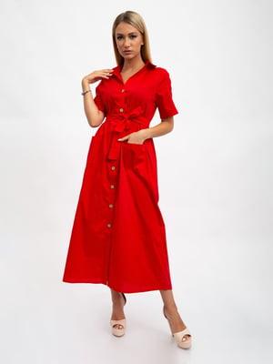 Платье красное | 5501050