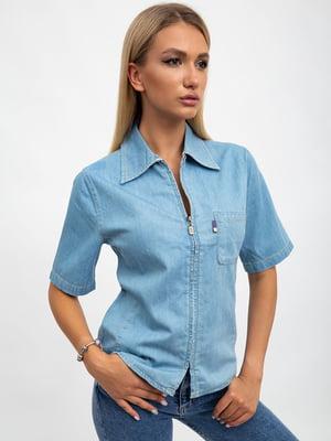 Рубашка светло-голубая | 5501066