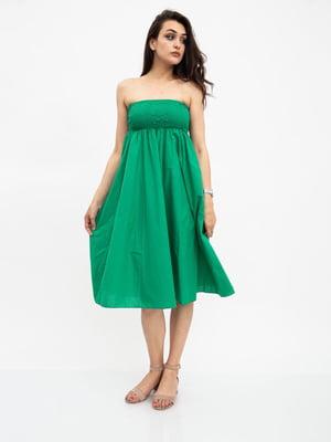 Сарафан зеленый | 5501082