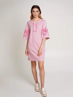 Сукня пудрового кольору - УкрГламур - 5501388