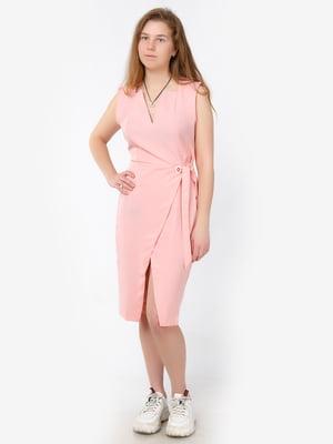 Платье розовое   5501401