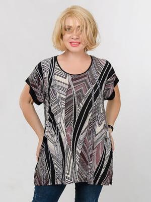 Блуза в принт | 5501414