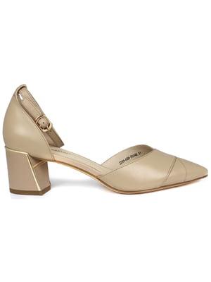 Туфлі бежеві | 5345112