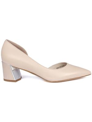 Туфлі бежеві | 5345117