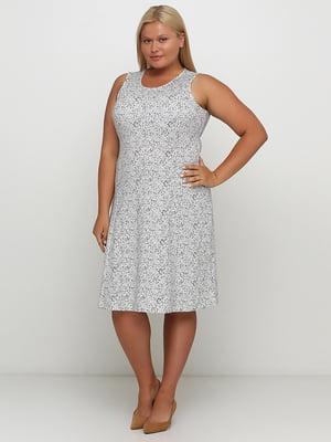 Сукня біла в цяточку | 5501699