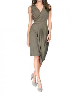 Платье цвета хаки | 5501702