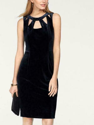 Платье темно-синее   5501704