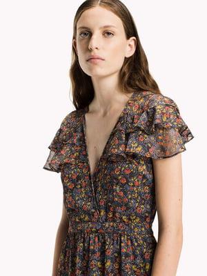 Сукня в квітковий принт | 5501709