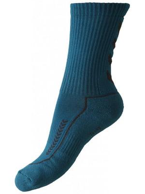 Шкарпетки кольору морської хвилі | 5501777