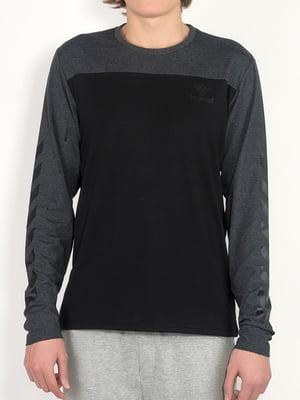 Реглан чорно-сірий | 5501786