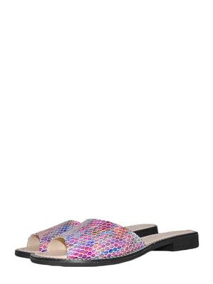 Шльопанці абстрактного забарвлення | 5495559