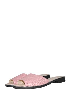 Шльопанці рожеві | 5495560