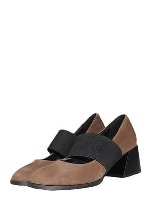 Туфли кофейного цвета | 5495577