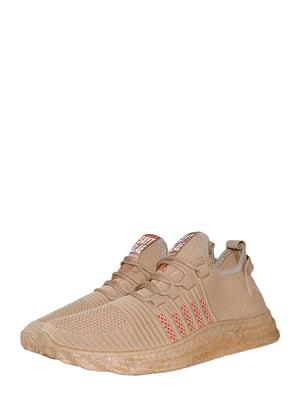 Кросівки світло-коричневі | 5497610