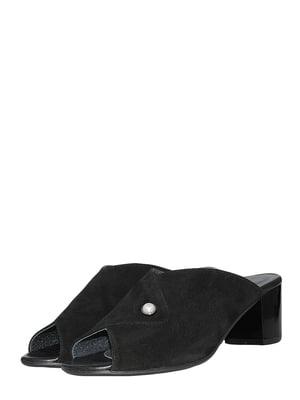 Шлепанцы черные | 5500641
