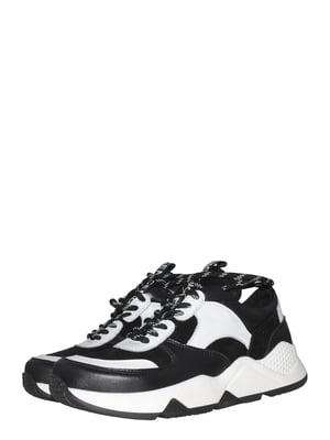 Кросівки чорно-білі   5500687