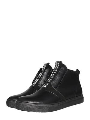 Черевики чорні | 5501981