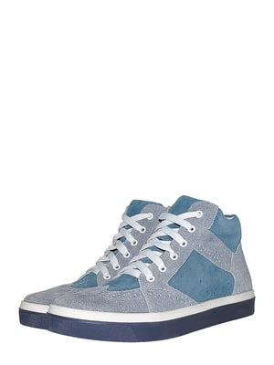 Ботинки синие | 5501985