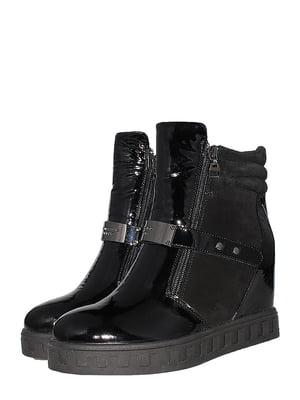 Черевики чорні | 5501990