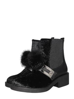 Ботинки черные | 5501991