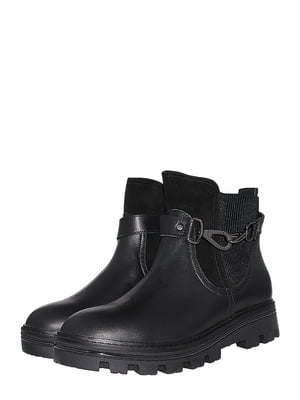 Ботинки черные | 5501993