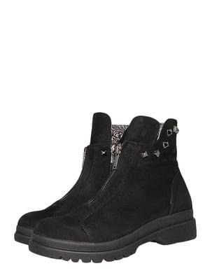 Черевики чорні   5502002